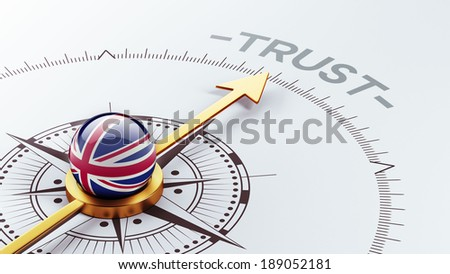 United Kingdom High Resolution Trust Concept - stock photo