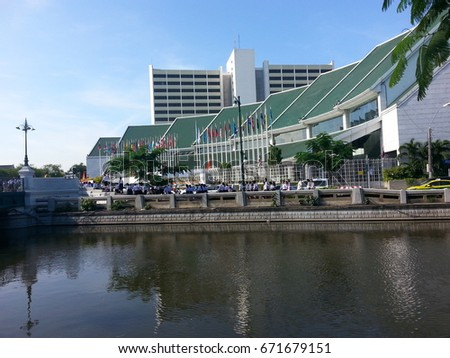 United Nations Building in Bangkok Thailand