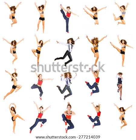 United Sports In the Air  - stock photo