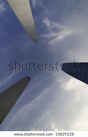 United States Air Force Memorial in Arlington, Virginia