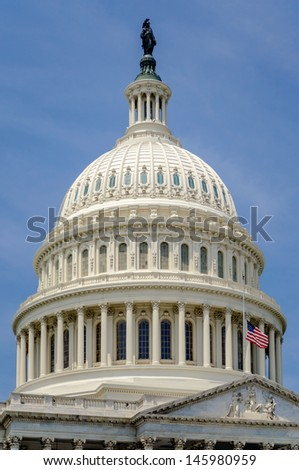 United States Capitol building, Washington DC, USA