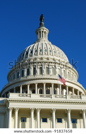 United States Capitol building, Washington DC, USA / United States Capitol