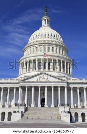 United States Capitol, Washington DC - stock photo