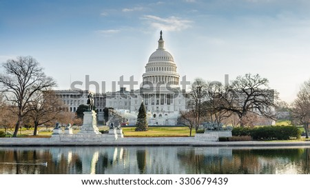 United States Congress - stock photo