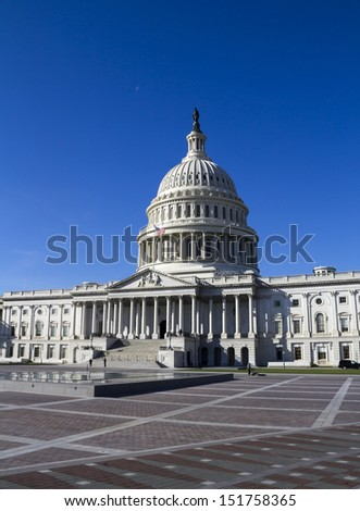 United States Congress Building, Capitol, Washington, DC, USA.