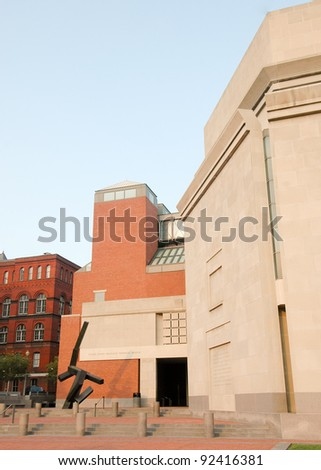 United States Holocaust Memorial Museum - stock photo