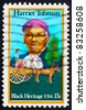 UNITED STATES OF AMERICA - CIRCA 1978: a stamp printed in the United States of America shows Harriet Tubman and Cart Carrying Slaves, circa 1978 - stock photo