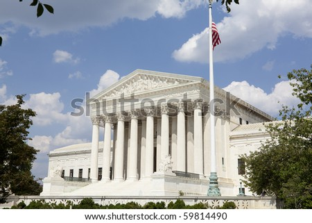 United States Supreme Court - stock photo