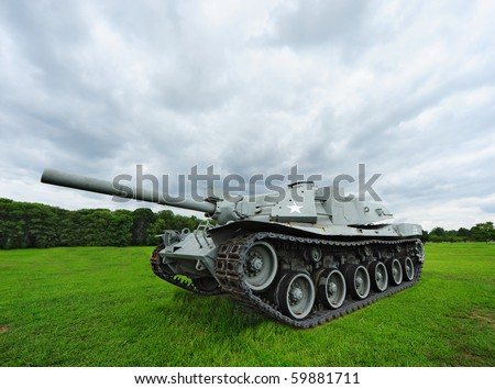 United States World War II Tank