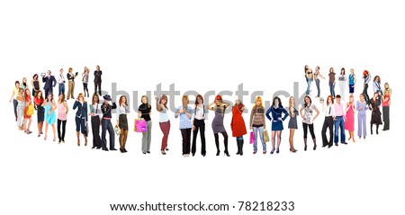Unity Business Friendship - stock photo