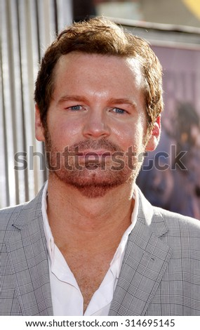 UNIVERSAL CITY, CA - OCTOBER 02, 2011: Eric Matheny at the Los Angeles premiere of 'Real Steel' held at the Gibson Amphitheatre in Universal City, USA on October 2, 2011.