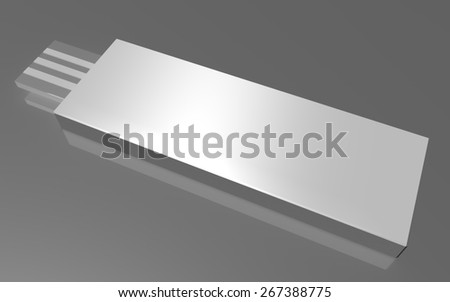 Universal Serial Bus Connection - stock photo