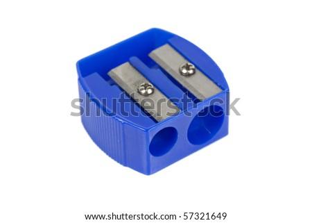 Universal sharpener for pencils - stock photo