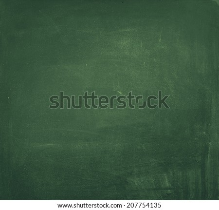 Universal Washed Green Blackboard, vintage background - stock photo