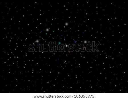 universe abstract background  - stock photo