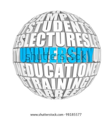 university - stock photo