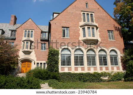 University Campus Building - stock photo