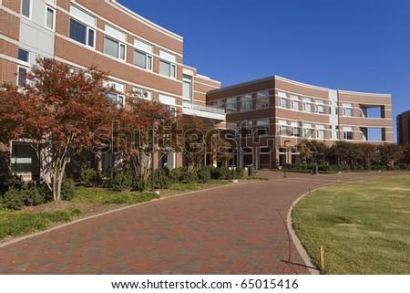 University campus building - stock photo