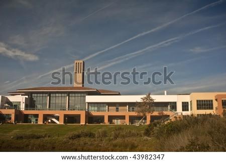 University Center at University of California at Santa Barbara - stock photo