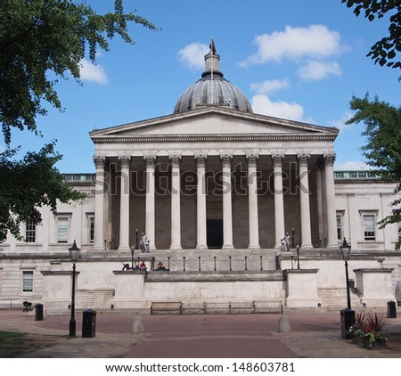 University College, London - stock photo