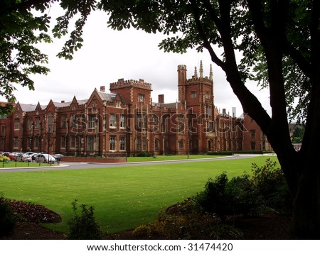 University of Belfast - stock photo