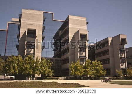 University of California at San Diego - Jacob's College of Engineering - stock photo