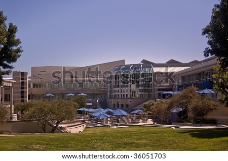 University of California at San Diego _ Price Student Center - stock photo