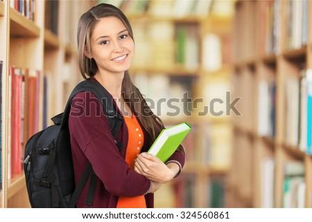 University Student. - stock photo