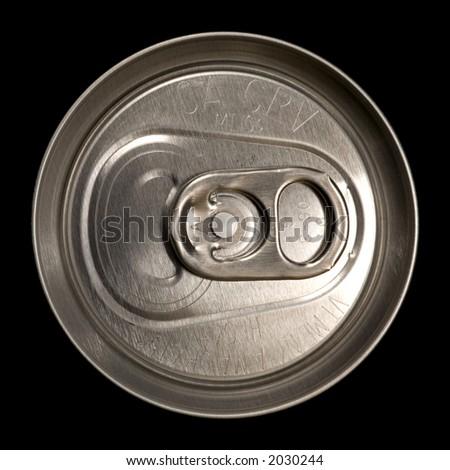 Unopened Aluminum Can - stock photo