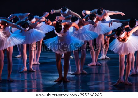 unrecognizable ballet dancers