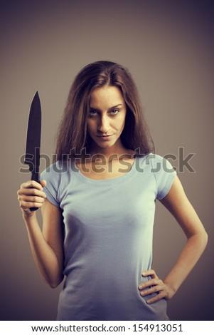 Killer Knife Stock Pho...
