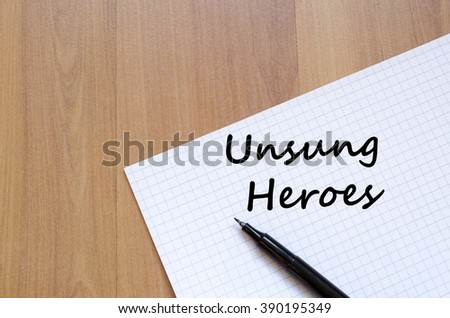 Unsung Hero Essay