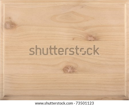 Untreated natural wood texture: Character Alder - stock photo