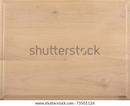 Untreated natural wood texture: Clear Alder - stock photo