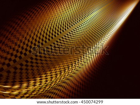 Unusual abstract background, stylized similar to the checkered flag. With beautiful reflections of light. For the design in racing cars, competition, rally, speed, championship. - stock photo