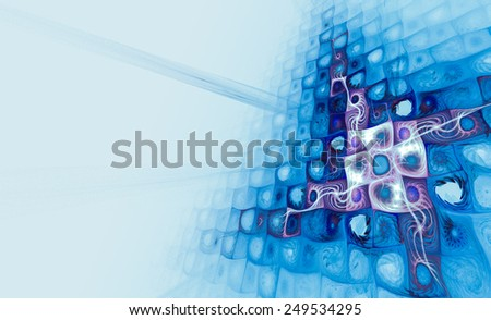 Unusual abstract background with a stylish geometric pattern