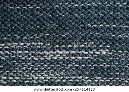 Unusual Abstract knitted pattern background texture