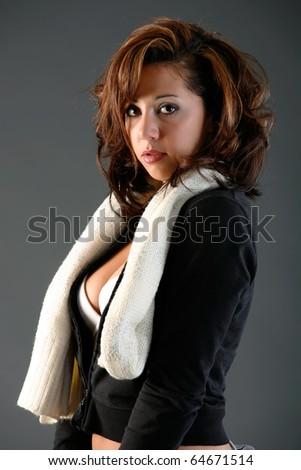 Unzipped - stock photo