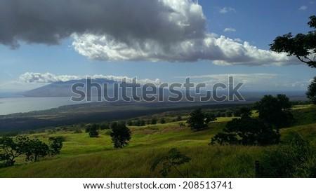 Upcountry Maui - stock photo