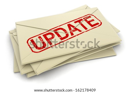 Update letters  (clipping path included)