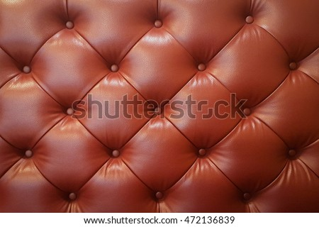 upholstery red leather pattern of sofa chair, Textured retro background