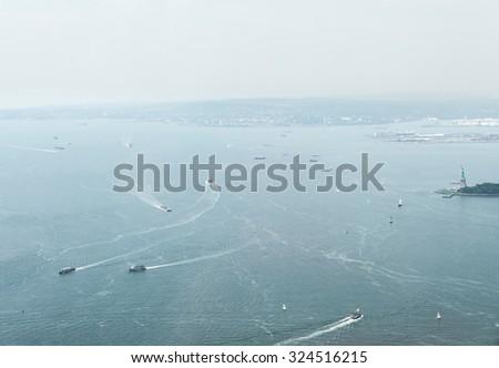 Upper Bay, New York - stock photo