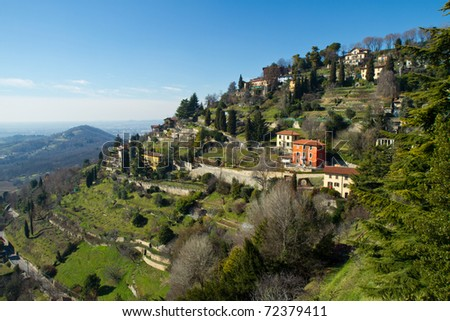 Bergamo Italy Pictures Landscape Bergamo Italy