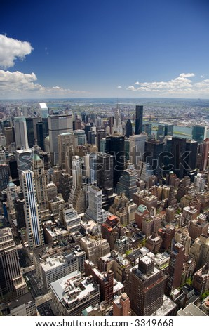 Upper East Side Manhattan - stock photo