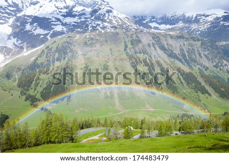 Upper Tauern National Park near Grossglockner, Carinthia and East Tyrol, Austria