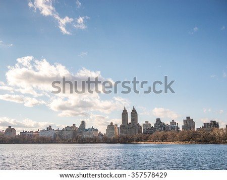 Upper West Side Skyline - stock photo