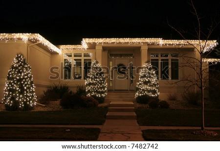 luxury home lighting. contemporary home upscale luxury home with christmas lights on luxury home lighting