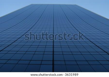 Upward Building View - stock photo