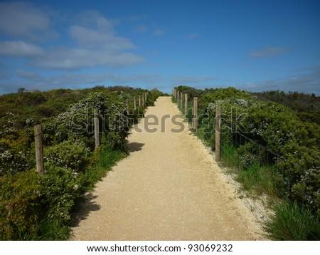 Upwards Path - stock photo