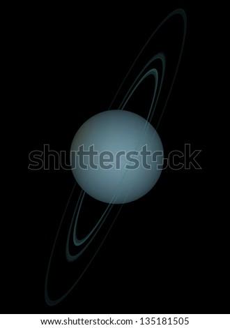 uranus - stock photo